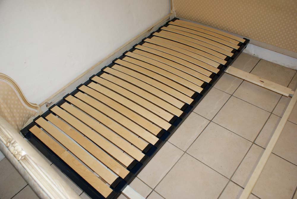 French Corbeille Bed Amp Upholstered Bed Adjustable Slatted
