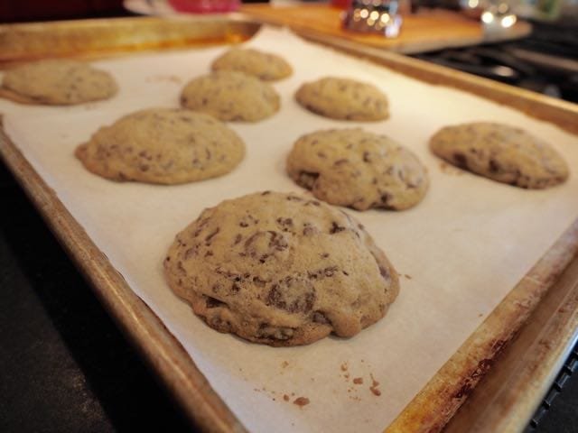 Sheet of chocolate chip cookies | www.thefreshcooky.com