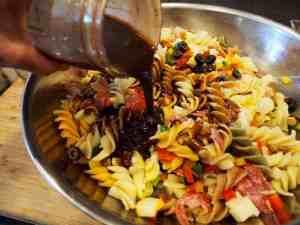 Italian Pasta Salad with Balsamic Dressing