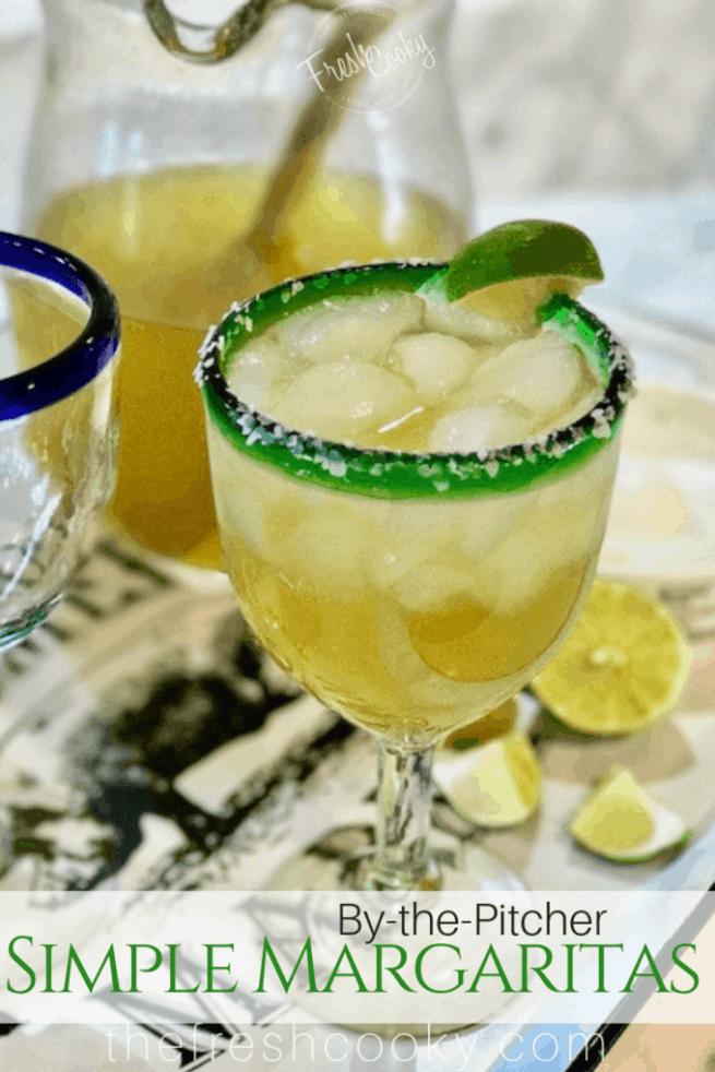 Simple Margaritas | www.thefreshcooky.com