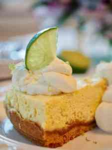 Lime Torte with Graham Cracker Crust