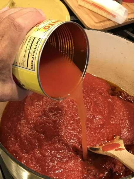Grandpa Frank's Secret Spaghetti Sauce #spaghettisauce #redsauce #secret #familyrecipe