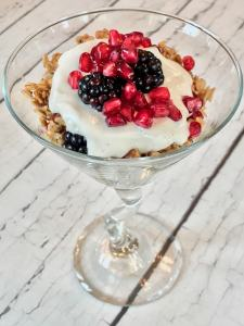 Basic Crock Pot Soft Granola with Yogurt Parfaits