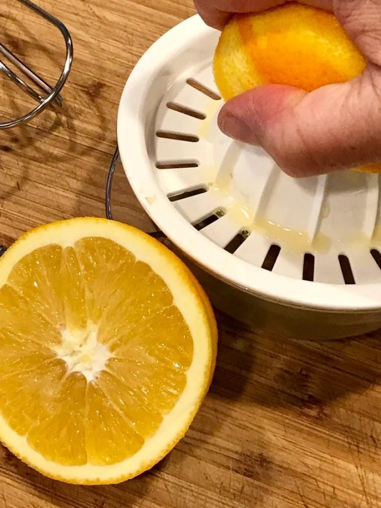 Orange Juicing   Thanksgiving Praline Yams