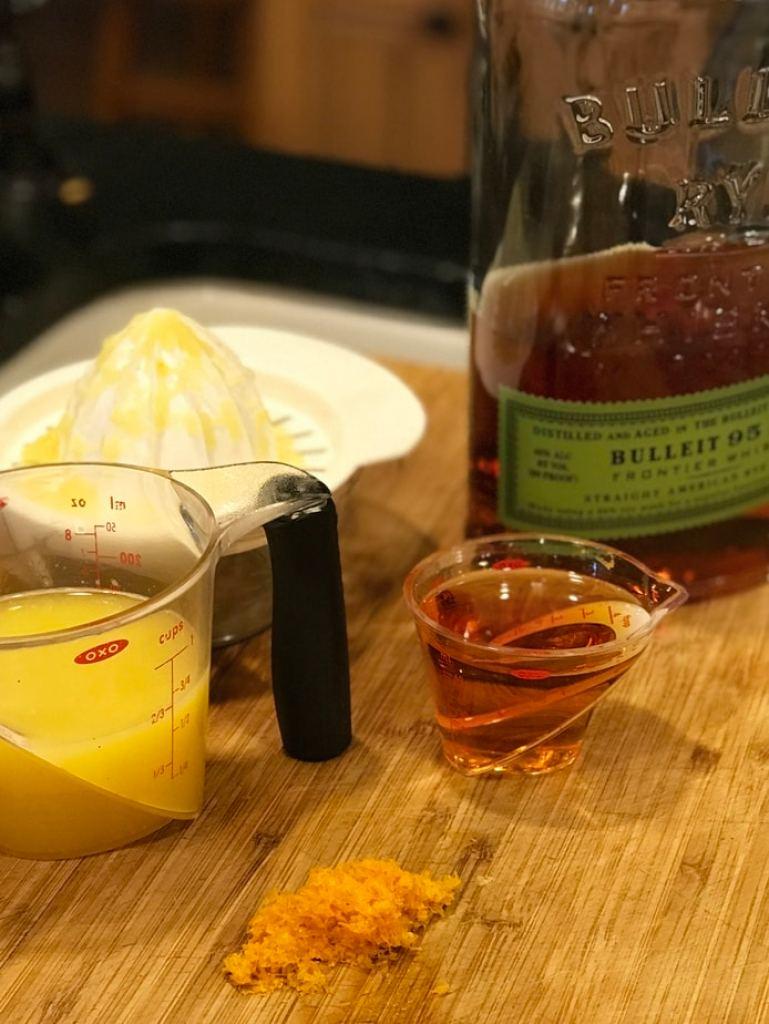 Orange Juice and Whiskey | Thanksgiving Praline Yams