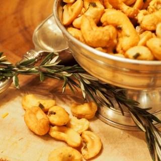 rosemary cashews   www.thefreshcooky.com