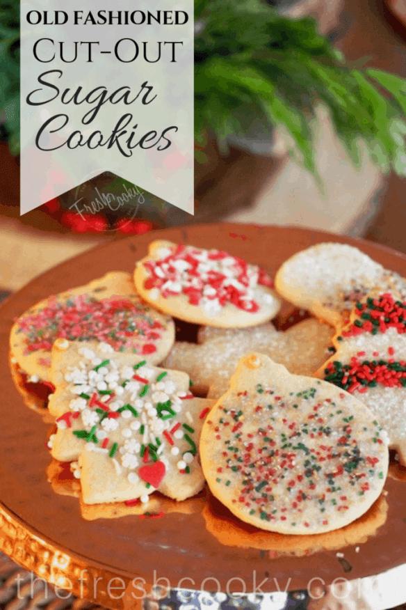 Joy S Classic Sugar Cutout Cookies The Fresh Cooky