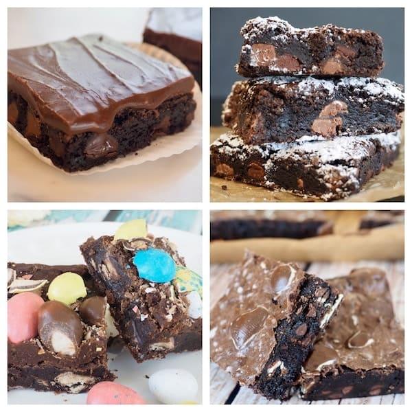 Basic Fudge Brownies | www.thefreshcooky.com #fudgebrownies #basicbrownies #frostedbrownies