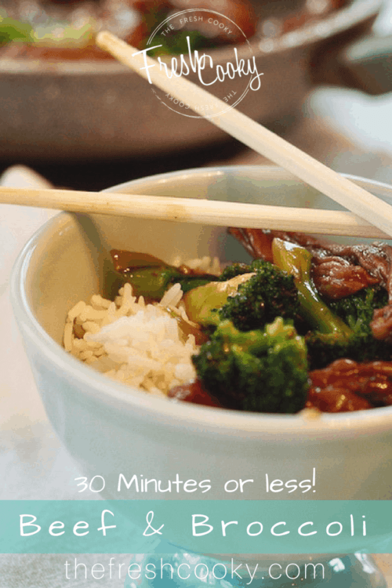 Easy Beef and Broccoli | www.thefreshcooky.com #beef #recipe #stirfry #dinner #thefreshcooky