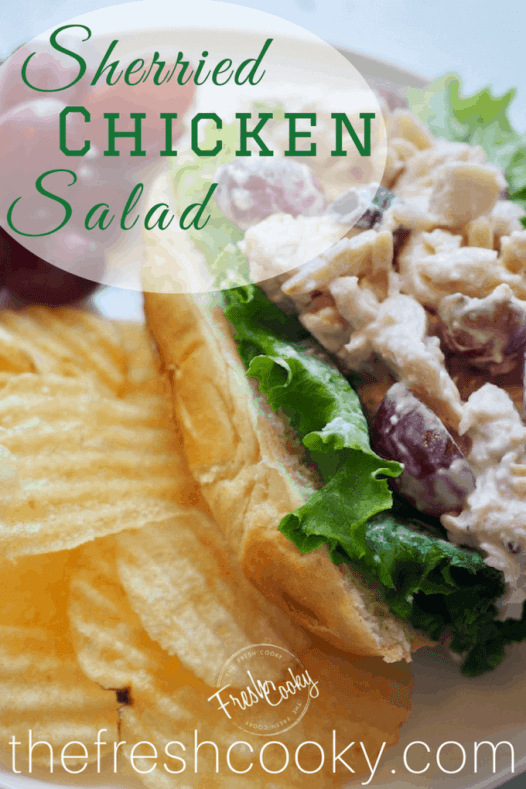 Sherried Chicken Salad | www.thefreshcooky.com