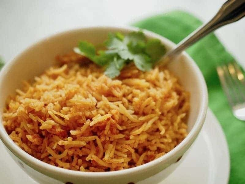 Spanish/Mexican Rice   www.thefreshcooky.com #mexicanrice #spanishrice #mexican #rice