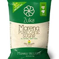 Zulka Morena Pure Cane Sugar, Unfined & Non-gmo All Natural Sugar, 4 Lb (Pack of 2)