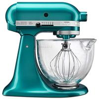 KitchenAid  5-Qt. Artisan Design Series with Glass Bowl - Sea Glass