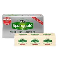 Kerrygold Unsalted Pure Irish Butter Sticks, 8 Ounce All-Natural Butter Made with Milk from Grass-Fed Cows