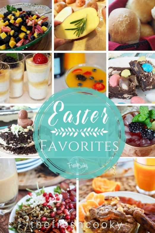 Easter Favorites sides and desserts   www.thefreshcooky.com