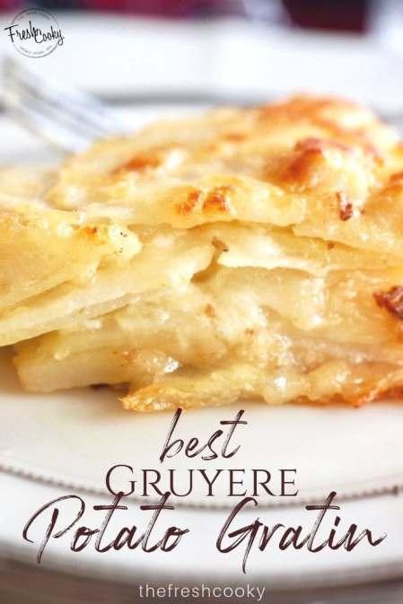 Best Gruyere Potato Gratin | www.thefreshcooky.com