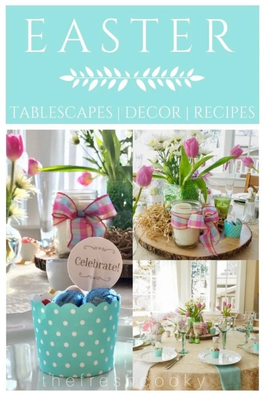 Easter Tablescapes and Decor | www.thefreshcooky.com
