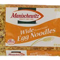 Manischewitz Wide Noodles, 12 Oz, Pack of 1