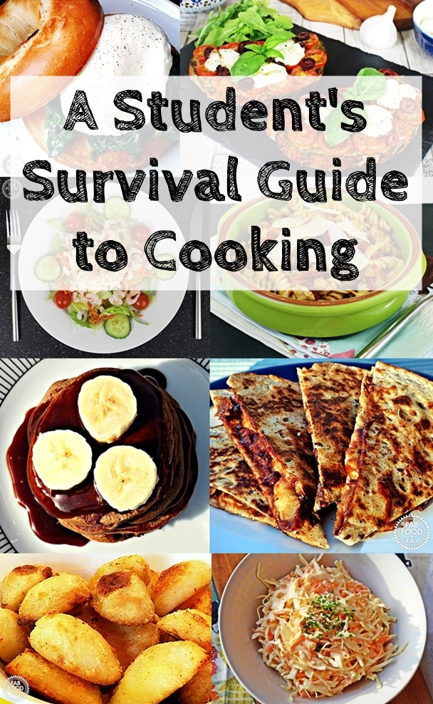 A Student's Survival Guide to Cooking