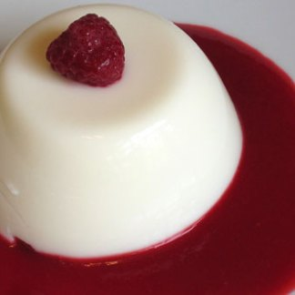 Raspberry-Custard