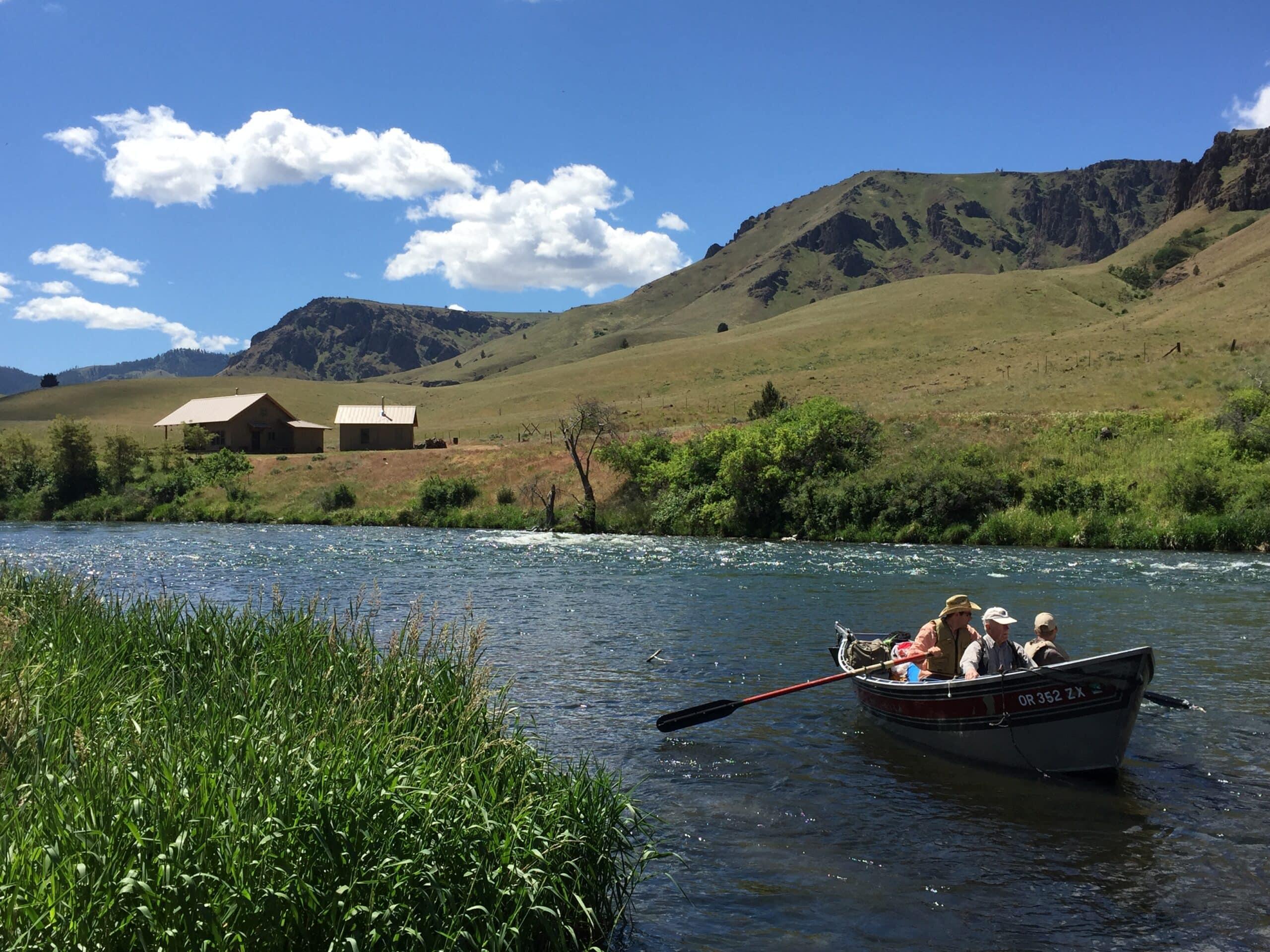 Deschutes River float