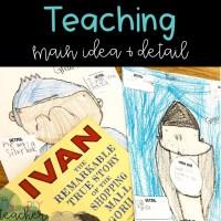 Teaching Main Idea & Detail in Upper Elementary