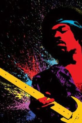 Jimi Hendrix Paint
