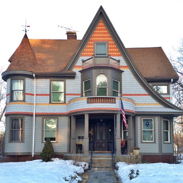 Victorian Architecture, West Hartford, CT
