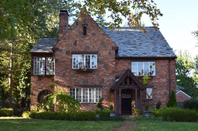 Door, Front Door, West Hartford, Ct, Connecticut, Tudor, Architecture,