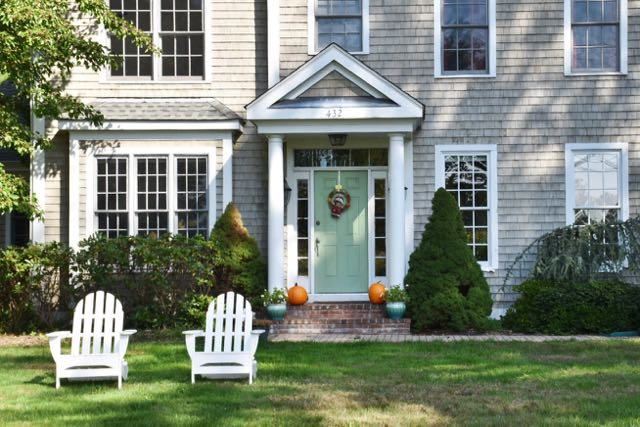 guilford, connecticut, shoreline, new england, architecture, adirondack chair