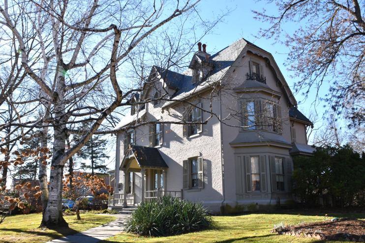 harriet beecher stowe house, hartford, connecticut, museum, national historic landmark