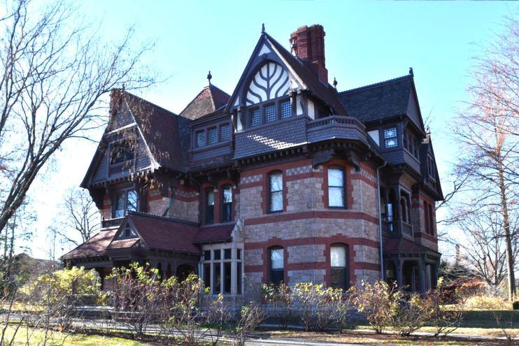 Chamberlin-Day House, Katherine Seymour Day, harriet beecher stowe center, hartford, connecticut , national historic landmark