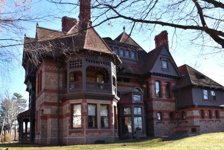 katharine seymour day house, harriet beecher stowe center, hartford, connecticut, national historic landmark