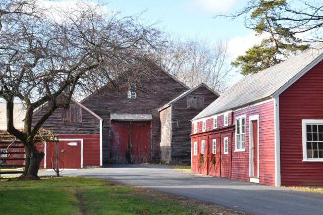 deerfield, massachusetts, barn
