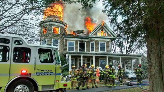 Virginia House Fire