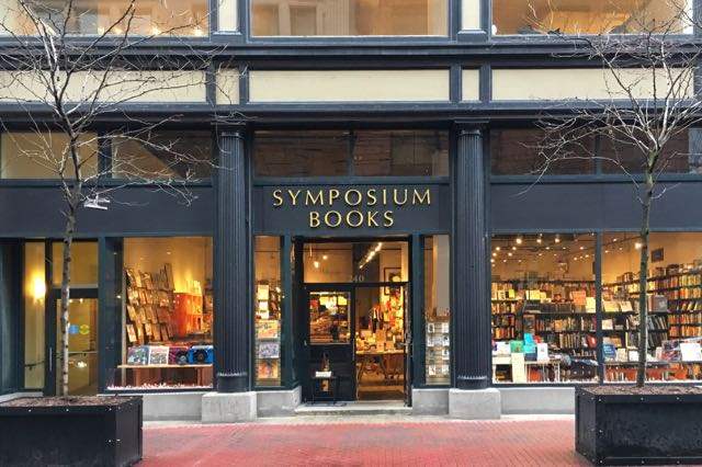 bookstore, providence, symposium books