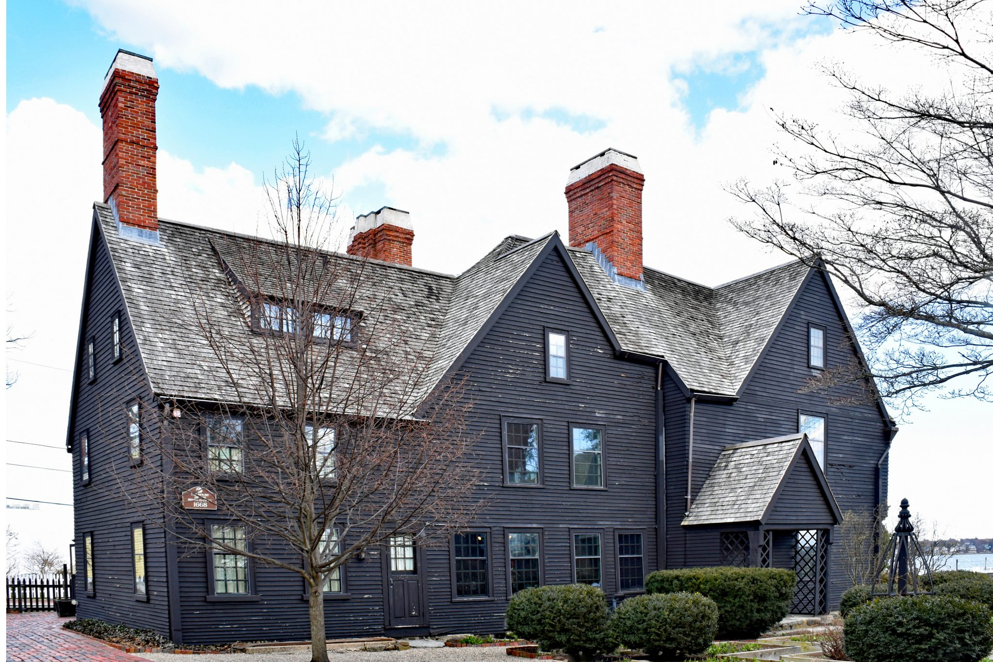 The House of Seven Gables in Salem MA