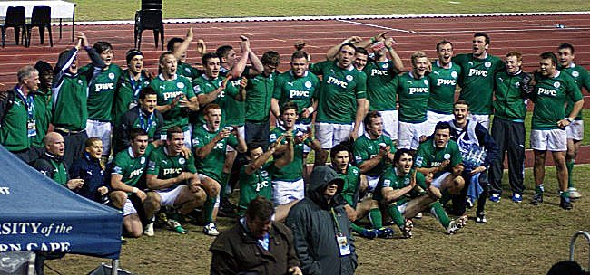 JWC2012: France U20 7 Ireland U20 18