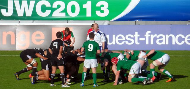 Ireland's scrum particularly impressed against New Zealand.