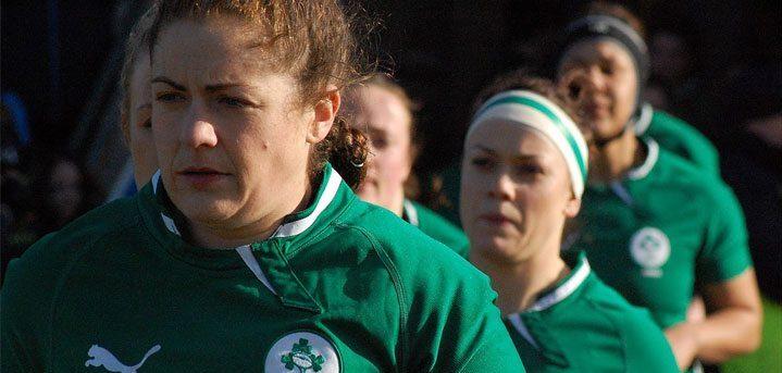 Women: Ireland team for Scotland.