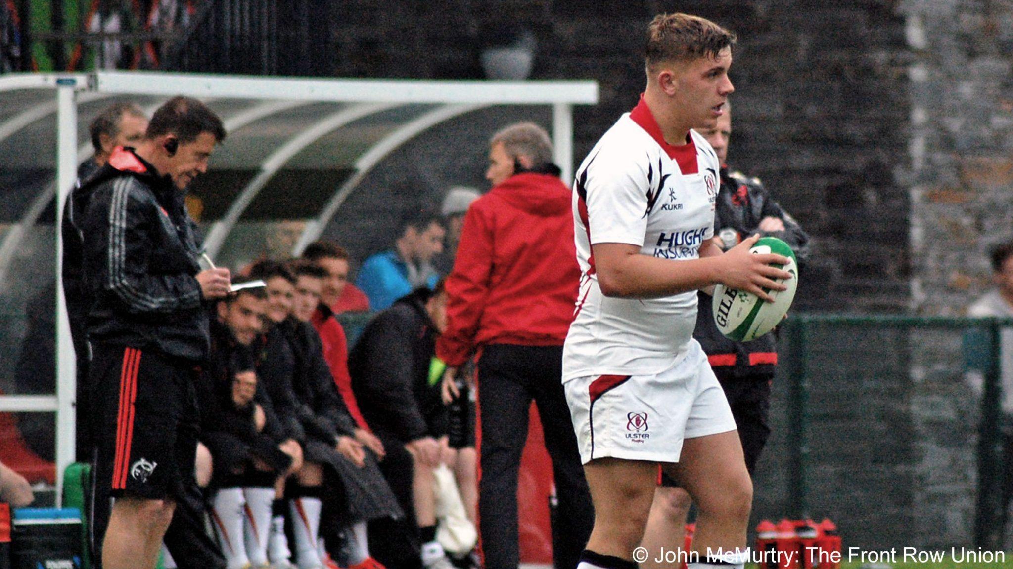 RBS6N: Teams up for Ireland v Wales U20's Fixture