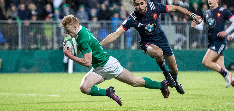 Ireland U20 remain unbeaten after win against France.