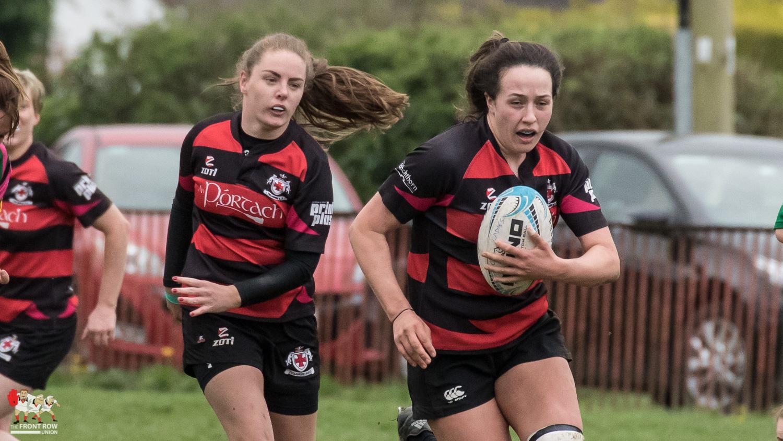 Nicole Fryday, Tullamore Ladies Rugby, City of Derry Ladies Rugby