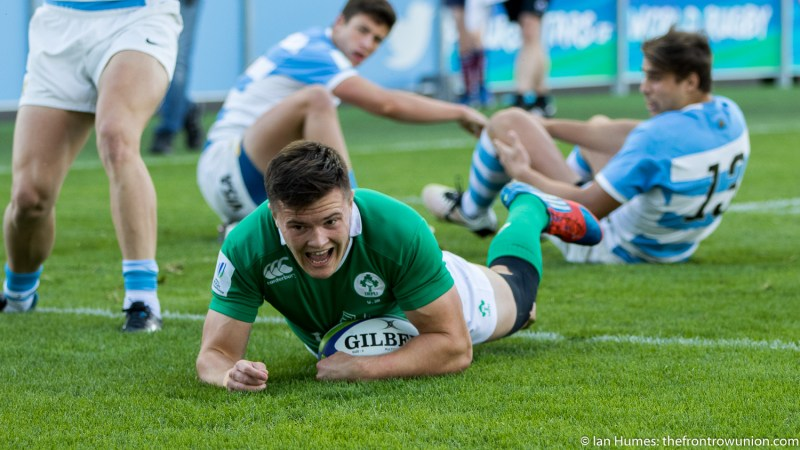 Jacob Stockdale, Ireland Rugby
