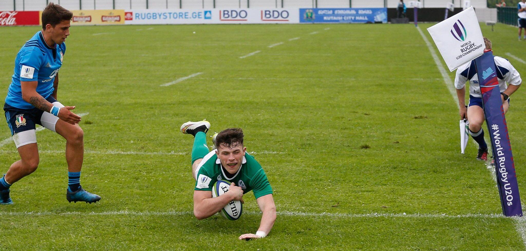 U20 Championship: Ireland struggle after slow start