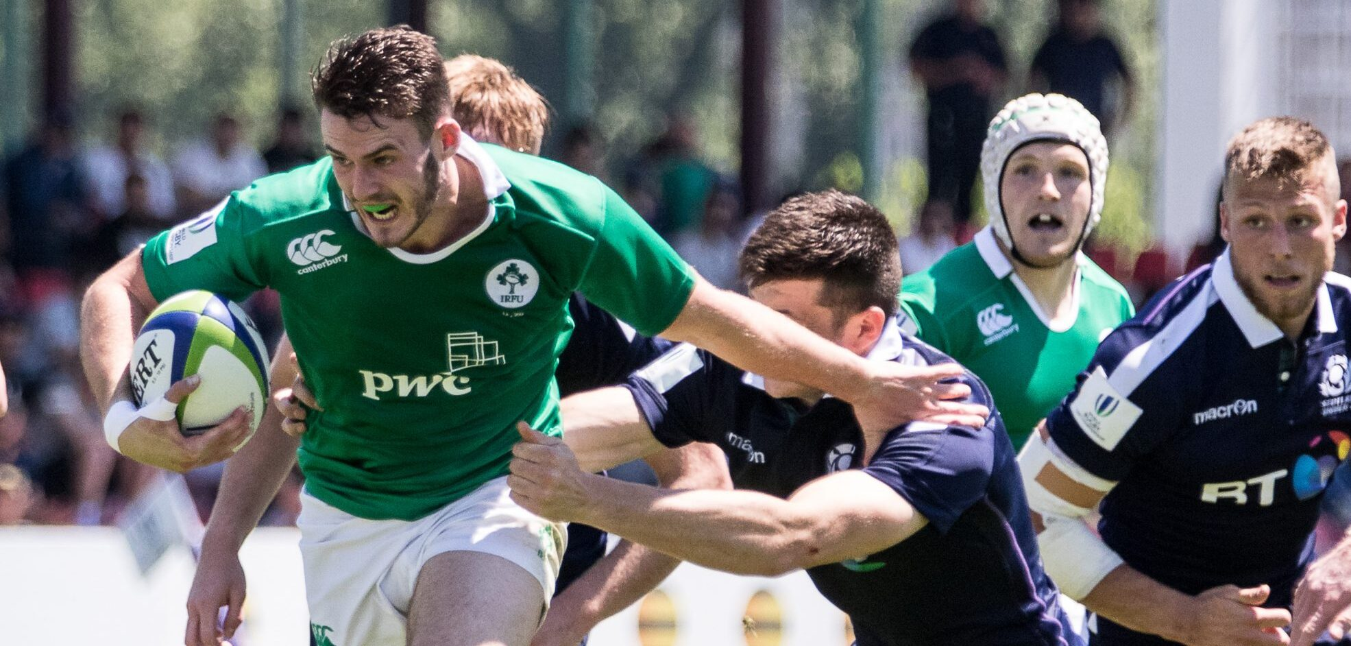 U20 Championship: Ireland U20 28 Scotland U20 32