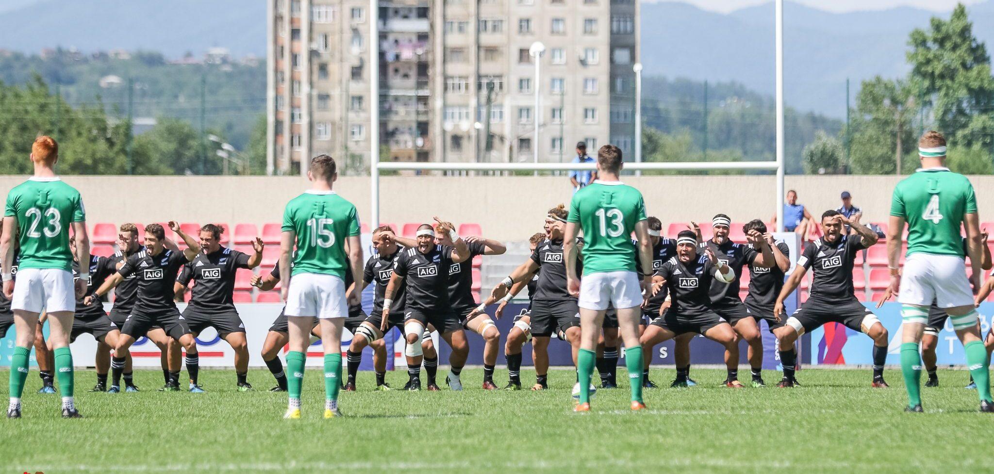 U20 Championship: Ireland U20 3 New Zealand U20 69