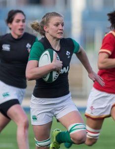 Claire Molloy, Ireland Women Rugby