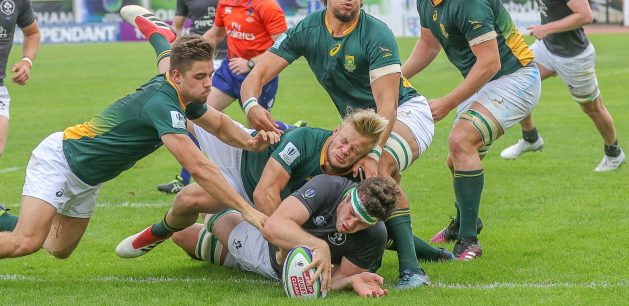 U20 World Championship: South Africa 30 Ireland 17