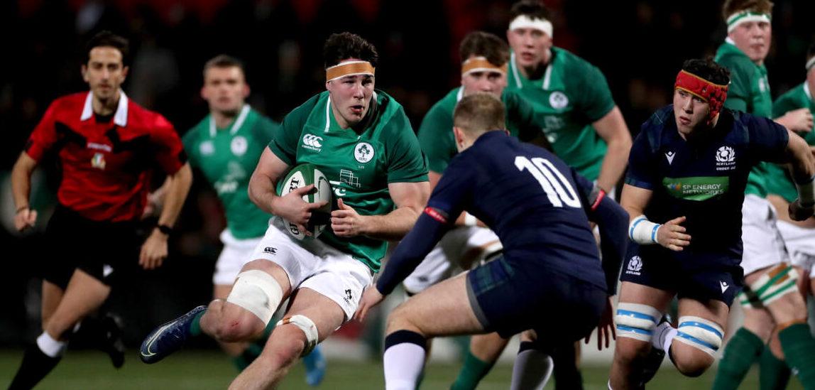 U20 Six Nations. Teams up for Ireland v Wales